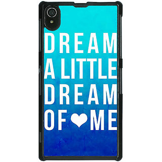 EYP Dream Love Back Cover Case For Sony Xperia Z2