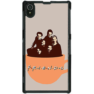EYP TV Series FRIENDS Back Cover Case For Sony Xperia Z2