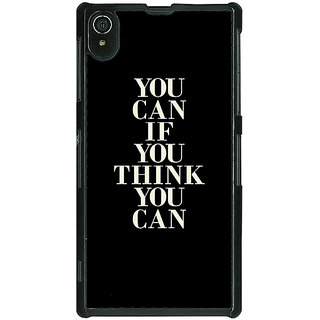 EYP Quote Back Cover Case For Sony Xperia Z2
