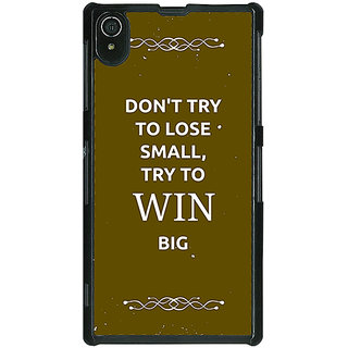 EYP SUITS Quotes Back Cover Case For Sony Xperia Z2