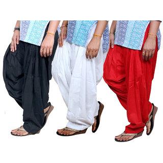 Indiweaves WomenS Cotton Patiala Salwar (713100906-IW)