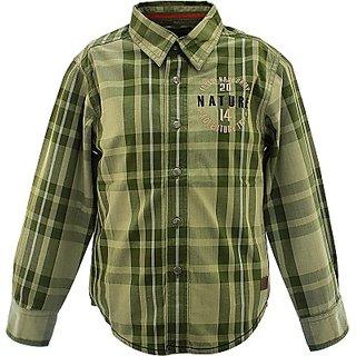Boys Checkered Casual Shirt