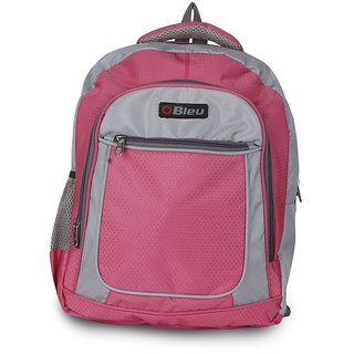 School Bag Large - Lite - Pink  Grey 131