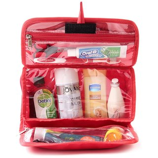 Utility Kit - Toiletry Pouch - Red