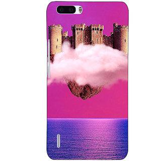EYP Flying Castle Dream Back Cover Case For Honor 6 Plus