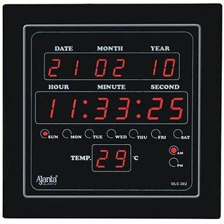 Ajanta Digtal Wall Clock