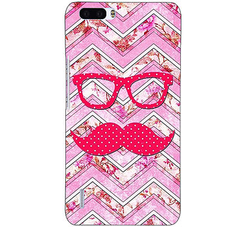 EYP Mustache Back Cover Case For Honor 6 Plus