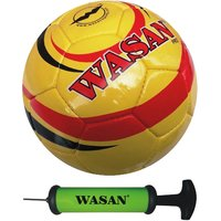 Wasan Pro Football - Yellow, Free Pump