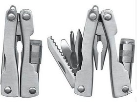 Micro Plier ToolKit LED Light Tool Kit Knife Now On Work Together Easy To Move
