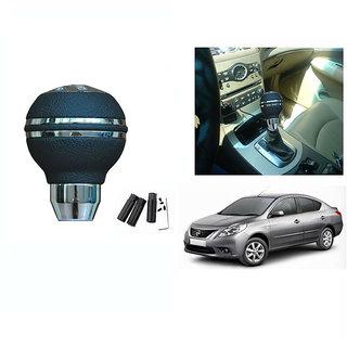 Takecare  Car Chrome Finish Black  Gear Shift  Knob  For  Nissan Sunny