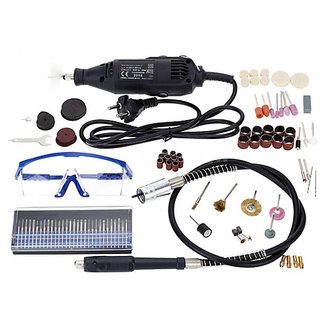 Electric Rotary Grinder Polishing Sanding Tool Kit With 114pcs Accessories