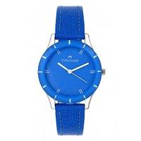 Swisstone Blue Dial Blue Strap Analog Watch For Women/Girls- ST-LR002-BLU-BLU
