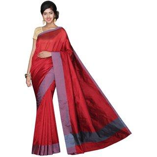 Korni Cotton Silk Banarasi Saree CLR-1549- Maroon KR0501