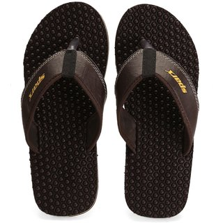Sparx SFG-531 Brown Slipper Size 10