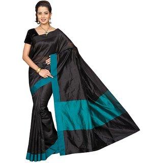 Korni Cotton Silk Banarasi Saree HM-1010- Blue KR0352