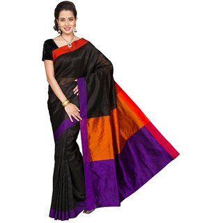 Korni Cotton Silk Banarasi Saree HM-1010- Purple KR0351
