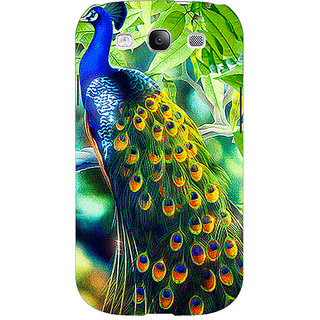 EYP Paisley Beautiful Peacock Back Cover Case For Samsung Galaxy S3 Neo GT- I9300I 351578