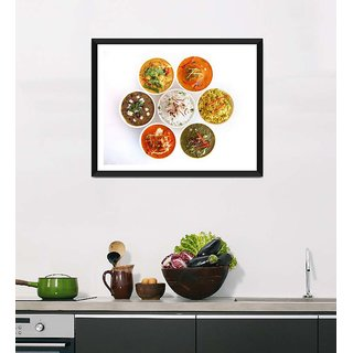 Tallenge Art For Kitchen - Circle Of Life - Ready To Hang Framed Art Print
