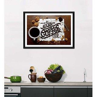 Tallenge Art For Kitchen - Coffee Break - Ready To Hang Framed Art Print