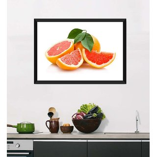 Tallenge Art For Kitchen - Fresh And Sweet - Ready To Hang Framed Art Print