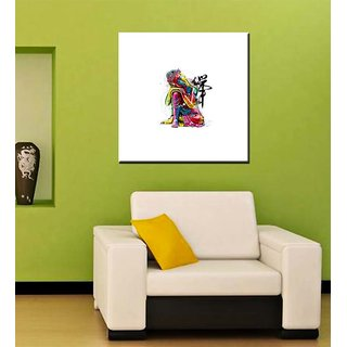 Tallenge - Buddha Colorful Art - Ready To Hang Gallery Wrap Canvas Art Print
