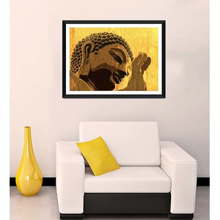 Tallenge - Gautam Buddha - Ready To Hang Framed Art Print