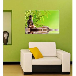 Tallenge - Meditating Buddha - Ready To Hang Gallery Wrap Canvas Art Print