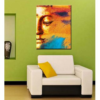 Tallenge - Meditating Gautam Buddha - Ready To Hang Gallery Wrap Canvas Art Print