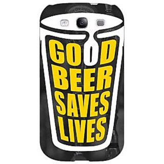 EYP Beer Quote Back Cover Case For Samsung Galaxy S3 Neo GT- I9300I 351250
