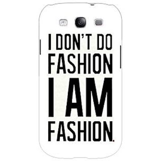EYP Fashion Quote Back Cover Case For Samsung Galaxy S3 Neo GT- I9300I 351428