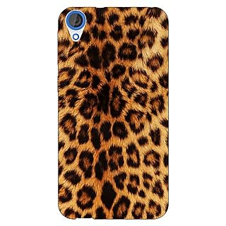 EYP Cheetah Leopard Print Back Cover Case For HTC Desire 820Q Dual Sim 360080