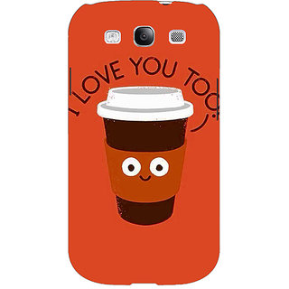 EYP Coffee Love Back Cover Case For Samsung Galaxy S3 Neo GT- I9300I 351433