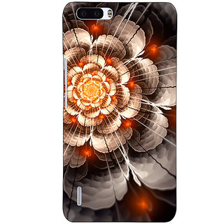 EYP Abstract Flower Pattern Back Cover Case For Honor 6 Plus