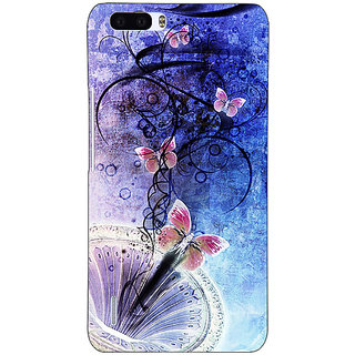 EYP Abstract Butter Fly Pattern Back Cover Case For Honor 6 Plus