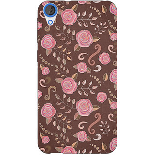 EYP Soft Roses Pattern Back Cover Case For HTC Desire 820Q Dual Sim 360240