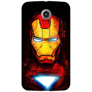 EYP Superheroes Ironman Back Cover Case For Google Nexus 6