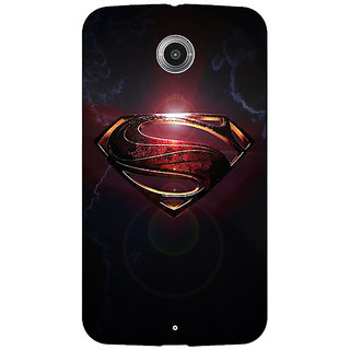 EYP Superheroes Superman Back Cover Case For Google Nexus 6