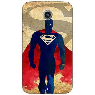 EYP Superheroes Superman Back Cover Case For Google Nexus 6
