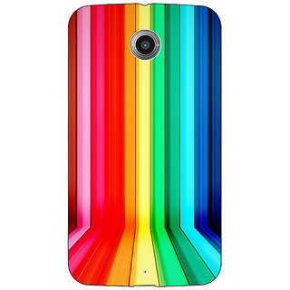 EYP Colour Bars Back Cover Case For Google Nexus 6