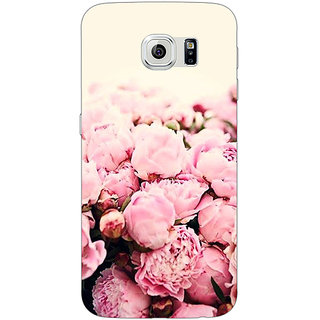 EYP Floral Pattern  Back Cover Case For Samsung S6