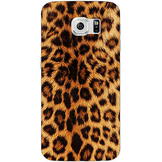 EYP Cheetah Leopard Print Back Cover Case For Samsung S6