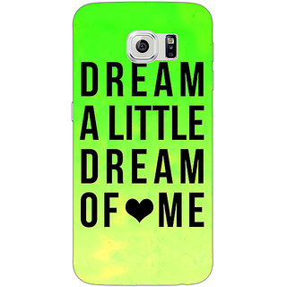EYP Dream Love Back Cover Case For Samsung S6