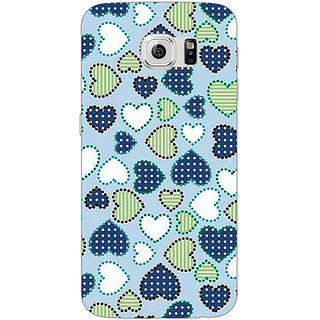 EYP Hearts Back Cover Case For Samsung S6