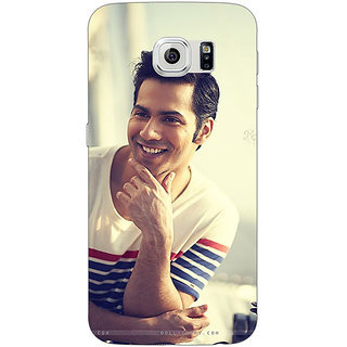 EYP Bollywood Superstar Varun Dhawan Back Cover Case For Samsung S6