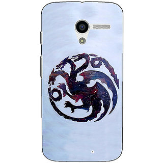 EYP Game Of Thrones GOT House Targaryen  Back Cover Case For Moto X (1st Gen)