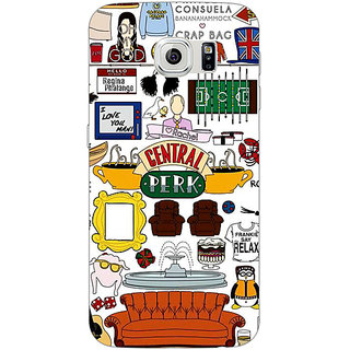 EYP FRIENDS Back Cover Case For Samsung S6