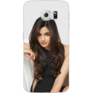 EYP Bollywood Superstar Alia Bhatt Back Cover Case For Samsung S6