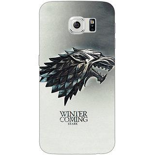 EYP Game Of Thrones GOT House Stark Back Cover Case For Samsung S6