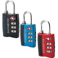 TSA Approved Samsonite Travel Sentry 3-Dial Combination Lock TSA Approved-TSA Ap