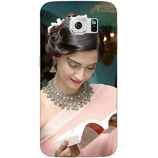 EYP Bollywood Superstar Sonam Kapoor Back Cover Case For Samsung S6